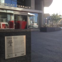 IceBoat Terrace POPS Plaque