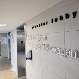 Architectural - Indoor Signage - Audi & Volkswagen Dimensional Lettering 2