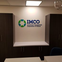 Architectural - Indoor Signage - IMCO Dimensional Lettering & Logo