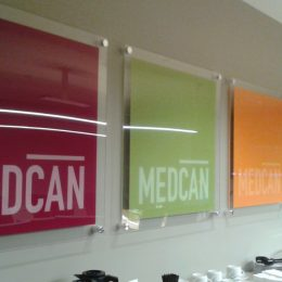 Architectural - Indoor Signage - Medcan Logos