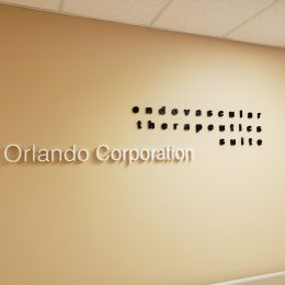 Architectural - Indoor Signage - Orlando Corporation Dimensional Lettering