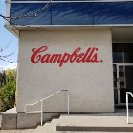 Architectural - Outdoor Signage - Campbell's Dimesional Lettering