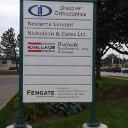 Architectural - Outdoor Signage - Mainway 3060 Pylon