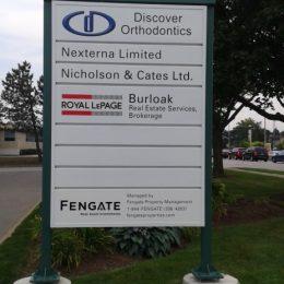 Architectural - Outdoor Signage - Mainway 3060 Pylon