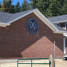 Architectural - Outdoor Signage - SAC Exterior Crest