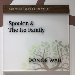 Donor Recognition - Naming & Dedication - Ed's House Interior Plaque